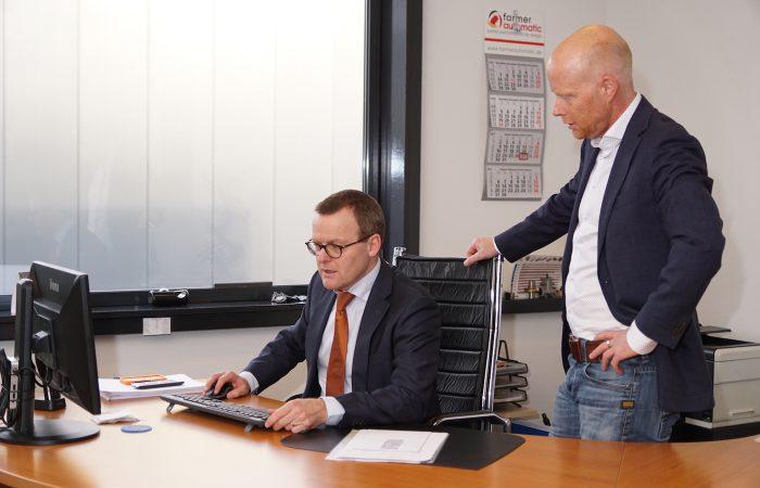 Marcel Perdon en Jos van Tuyl